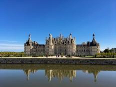 The famous Château de Chambord.
