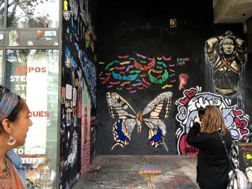 A mural by street artist Ardif.