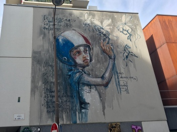 """""""La Magie Existe"""", by street artist Herakut"""