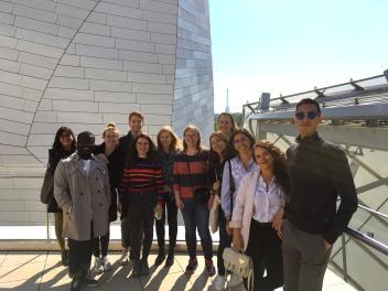Fondation Louis Vuitton - roof