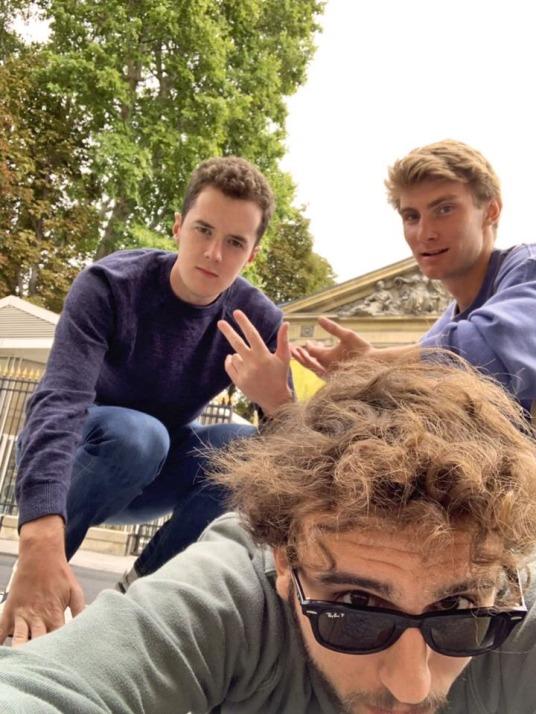 William, Mackey & José