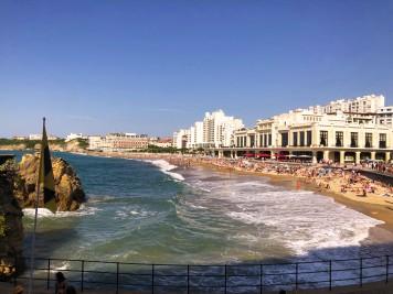 Bizarritz' seafront