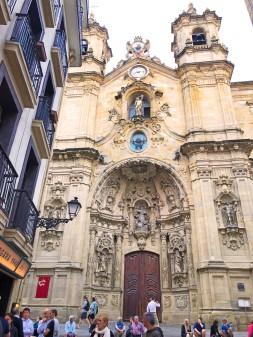 Basilica of Saint Mary of the Chorus, San Sebastian