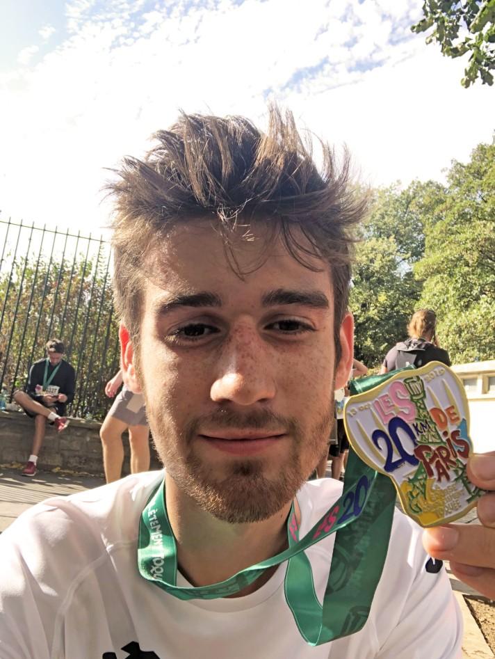 Arrivée de la course / finish line