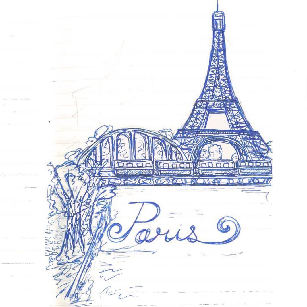 Sketch by Nadiya Atkinson '21