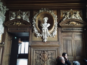 A bust of François Ier